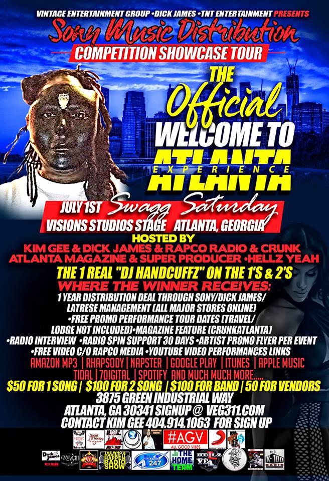 Atlanta Music Contest summer 2017