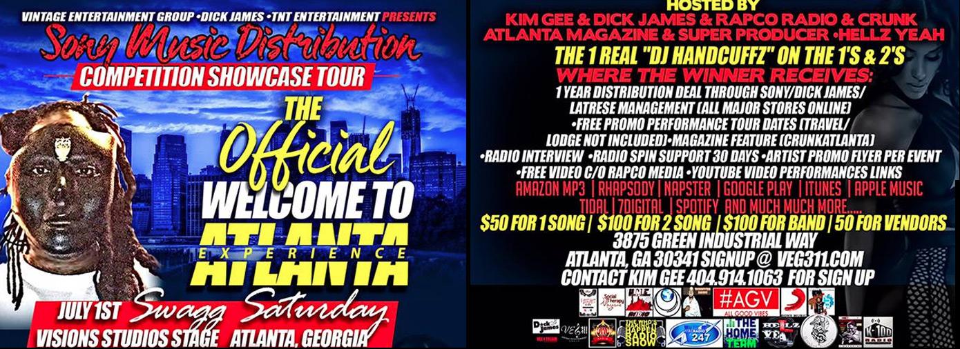 Atlanta Music Contest 2017