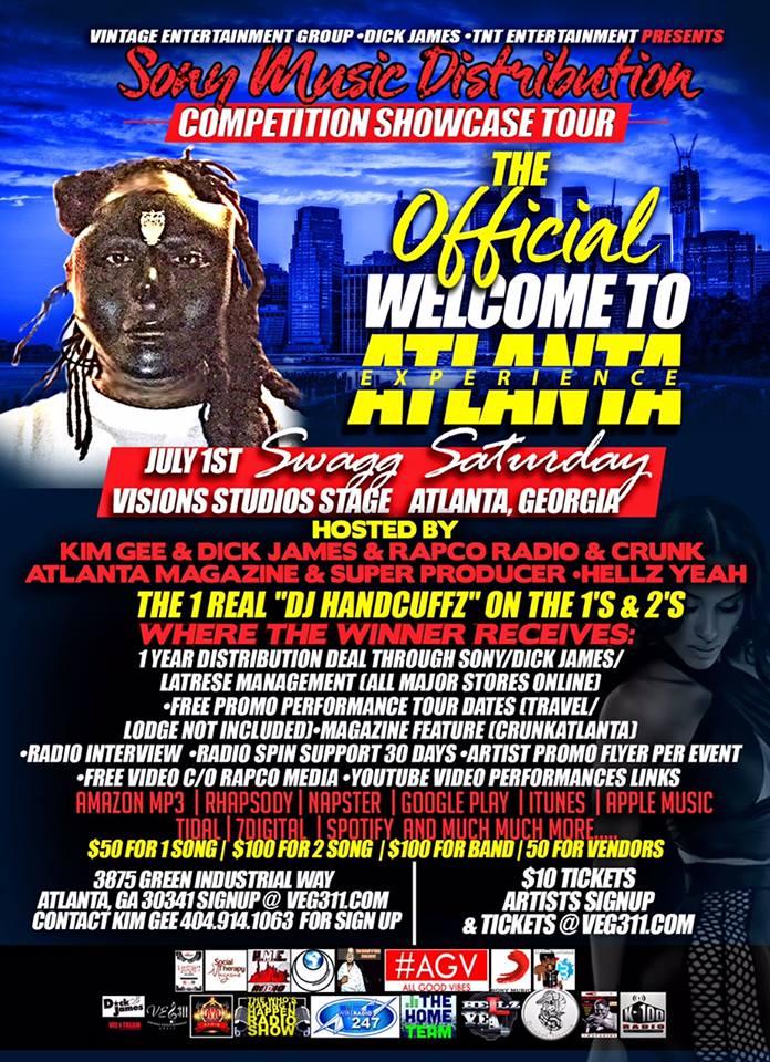 Music Contest Atlanta 2017