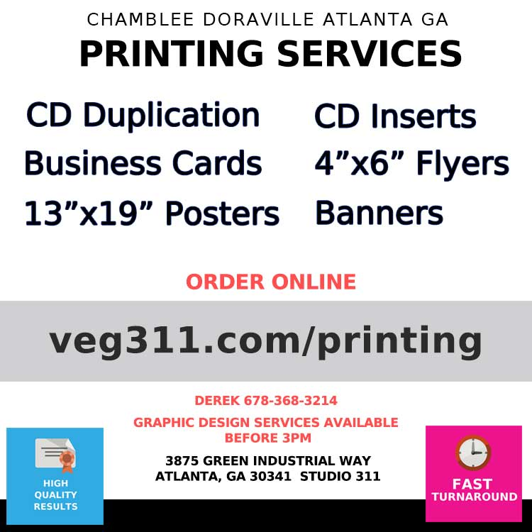 chamblee doraville ga printing services